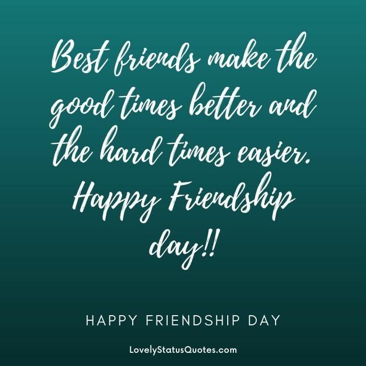 status about friendship